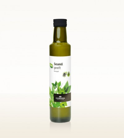 Organic Sesame Oil ripened 250ml