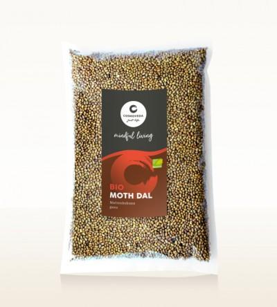 Organic Moth Dal - moth beans, whole 1kg