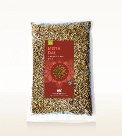 Organic Moth Dal - moth beans, whole 2,5kg