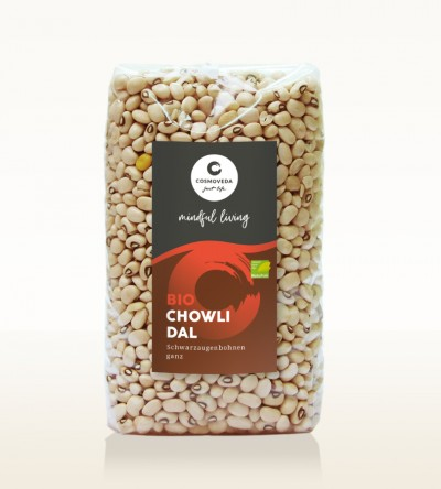 Organic Chowli Dal - black-eyed peas, whole 500g