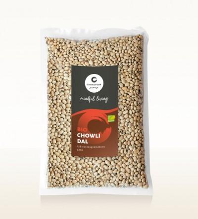 BIO Chowli Dal - Schwarzaugenbohnen, ganz 1kg