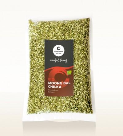 Organic Moong Dal Chilka - moong beans, split 1kg