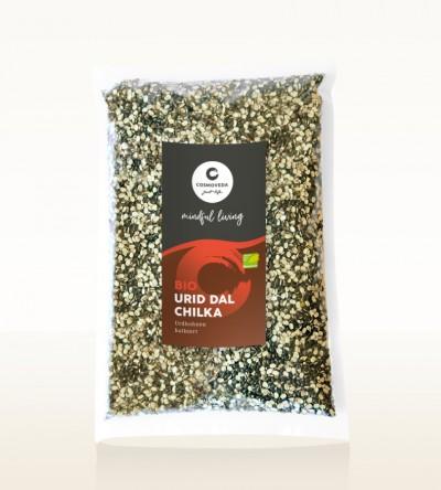 Organic Urid Dal Chilka - urid beans, split 1kg