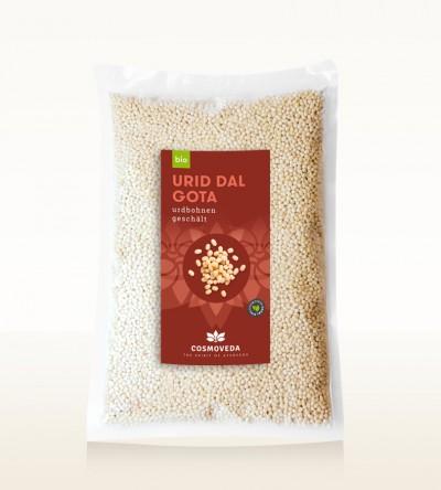 Organic Urid Dal Gota - urid beans, whole, peeled 2,5kg
