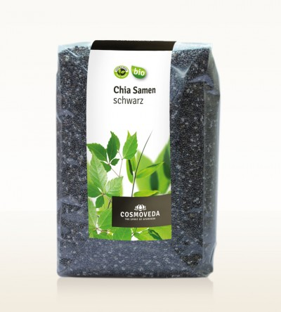 Organic Chia Seeds black 350g