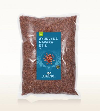Organic Red Ayurveda Navara Rice 2,5kg