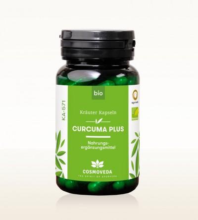 Organic Tumeric Plus Capsules 80 Pieces