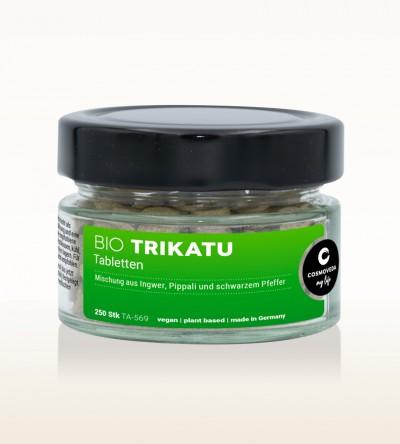 Organic Trikatu Tablets 60g