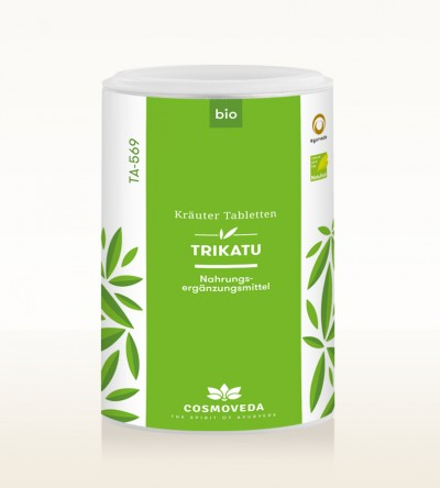 Organic Trikatu Tablets 200g