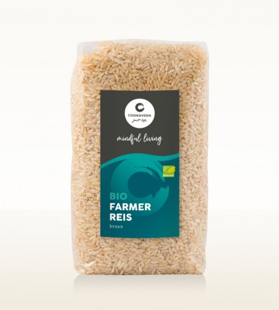 Organic Farmer Rice brown 500g