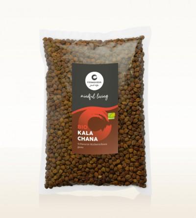 BIO Kala Chana - schwarze Kichererbsen ganz 2,5kg