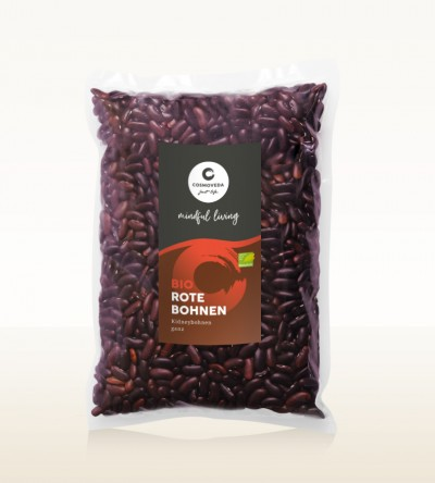 Organic Red Kidney Beans whole 1kg