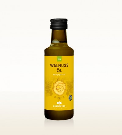 Organic Walnut Oil cold-pressed 100ml