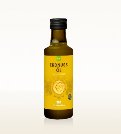 Organic Peanut Oil cold-pressed 100ml