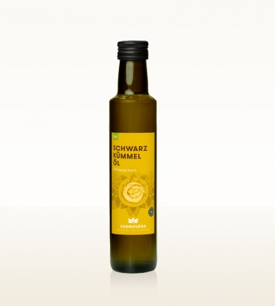 Organic Black Cumin Seed Oil cold-pressed 250ml