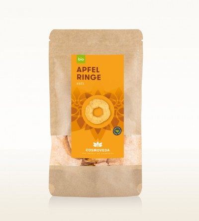 Organic Apple Rings 50g
