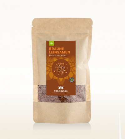 Organic Brown Linseeds 125g