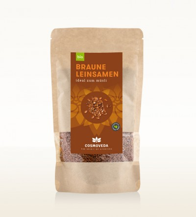Organic Brown Linseeds 250g
