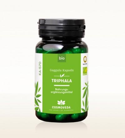 Organic Triphala Guggulu Capsules 80 pieces