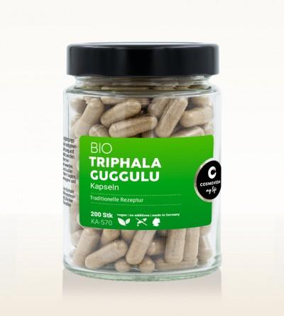 Organic Triphala Guggulu Capsules 200 pieces
