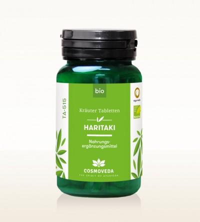 Organic Haritaki Tablets 60g