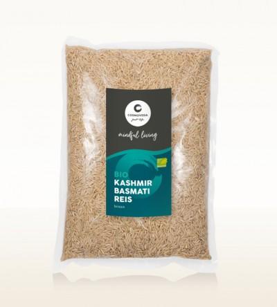 BIO Kashmir Basmati Reis braun 1kg