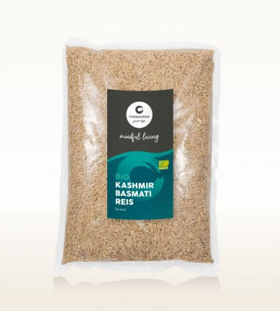 Organic Kashmir Basmati Rice brown 2,5kg