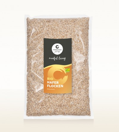 Organic Small Leaf Oat Flakes 1kg