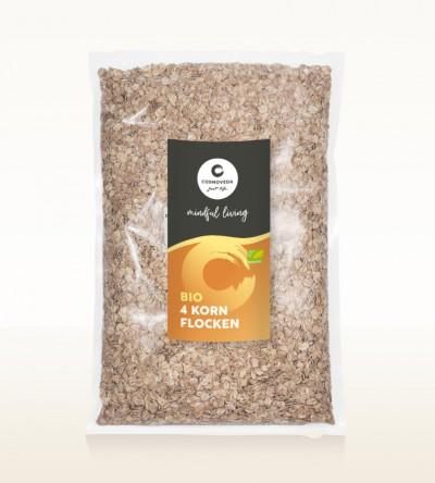 Organic 4 Grain Flakes 1kg