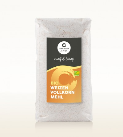 Organic Whole Wheat Flour 500g