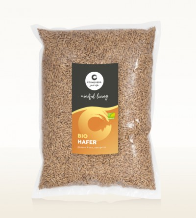 Organic Oat Hulled 1kg