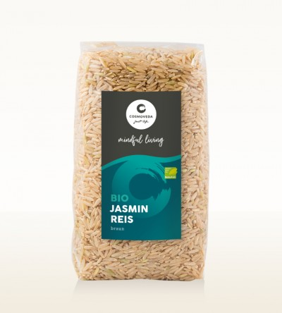 Organic Jasmin Rice brown 500g