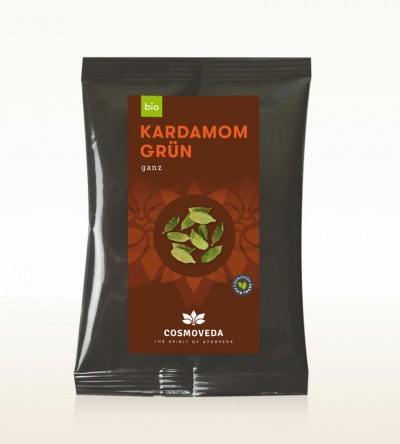 Organic Cardamom green whole 1kg