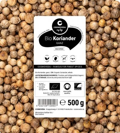 Organic Coriander whole 500g