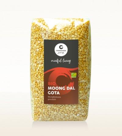 BIO Moong Dal Gota - Mungbohnen geschält 500g