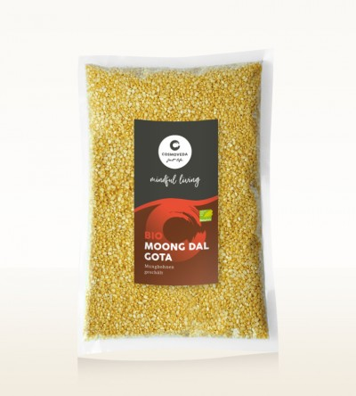 BIO Moong Dal Gota - Mungbohnen geschält 1kg