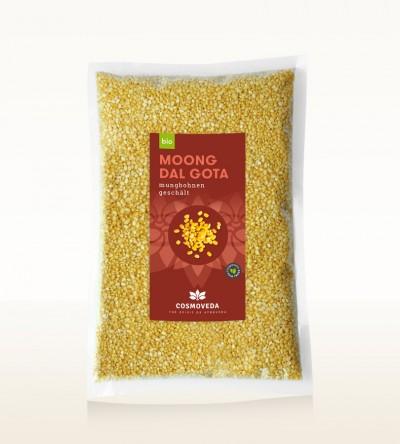 BIO Moong Dal Gota - Mungbohnen geschält 5kg