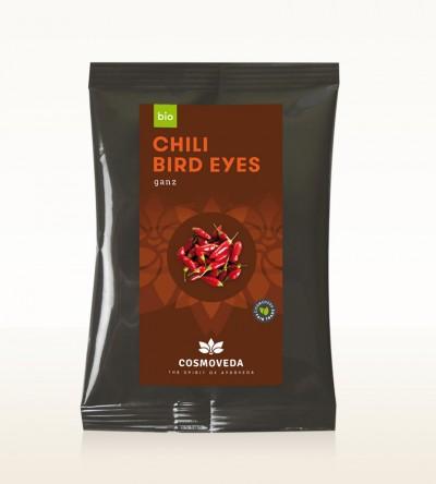 Organic Chili Bird Eyes pods 500g