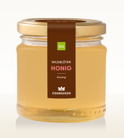 Organic Wildflower Honey 250g