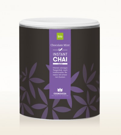 Organic Instant Chai Latte - Chocolate Mint 400g