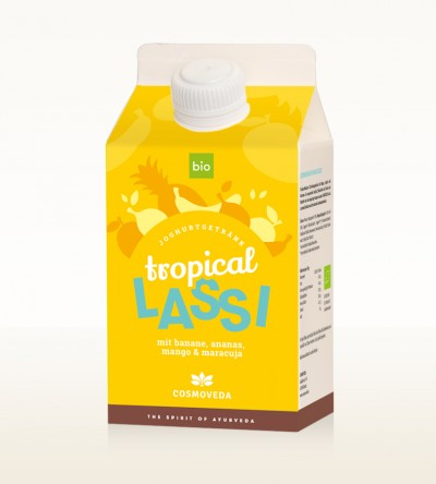 Organic Tropical Lassi 500ml