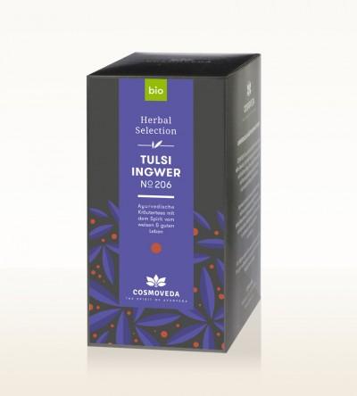 Organic Tulsi Ginger Tea 25 x 1,8g