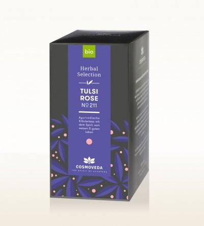Organic Tulsi Rose Tea 20 x 1,8g