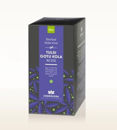 Organic Tulsi Gotu Kola Tea 25 x 1,8g
