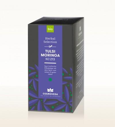 Organic Tulsi Moringa Tea 25 x 1,8g