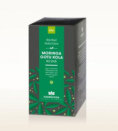 Organic Moringa Gotu Kola Tea 25 x 1,8g