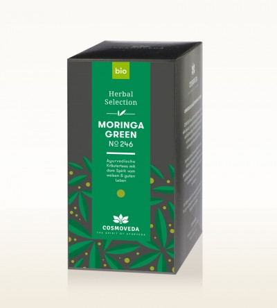 Organic Moringa Green Tea 25 x 1,8g