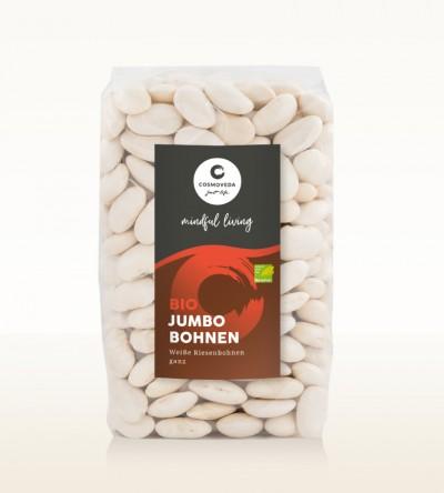 Organic Jumbo Beans white whole 500g