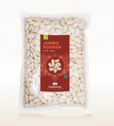 BIO Jumbo Bohnen weiß ganz 2,5kg