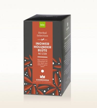 BIO Ingwer Holunderblüten Tee 25 x 1,8g
